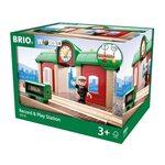 Brio Record and Play Station Dzelzceļa stacija 33578