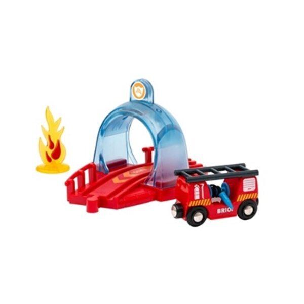 Brio Rescue Action Tunnel Kit Ugunsdzēsēju glābšanas tunelis 33976