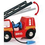 Brio Rescue Firefighting Train Ugunsdzēsības vilciens 33844