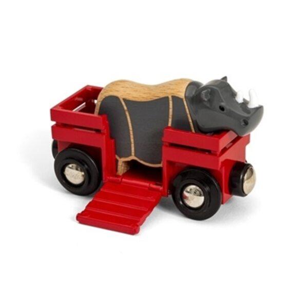 Brio Rhino and Wagon Vagons 33968