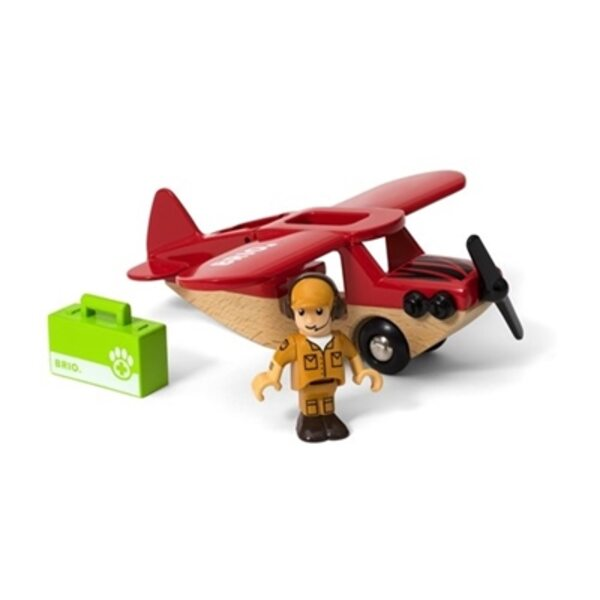 Brio Safari Airplane Lidmašīna 33963