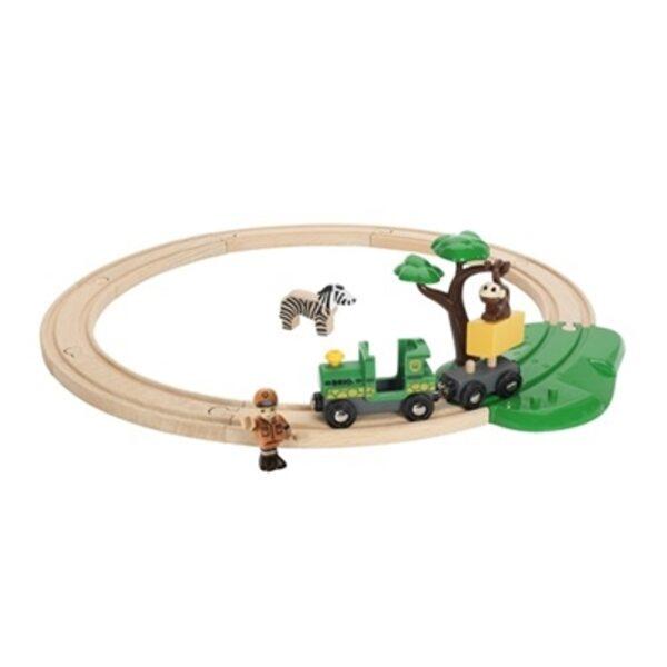 Brio Safari Railway Set Koka dzelzceļš 33720