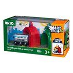 Brio Smart Engine with Action Tunnels Vilciens ar baterijām 33834