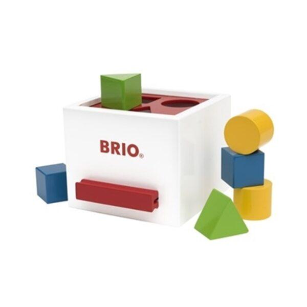 Brio Sorting Box Koka sorteris White 30250