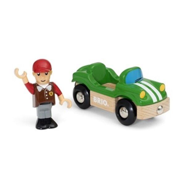 Brio Sports Car Koka mašīna 33937