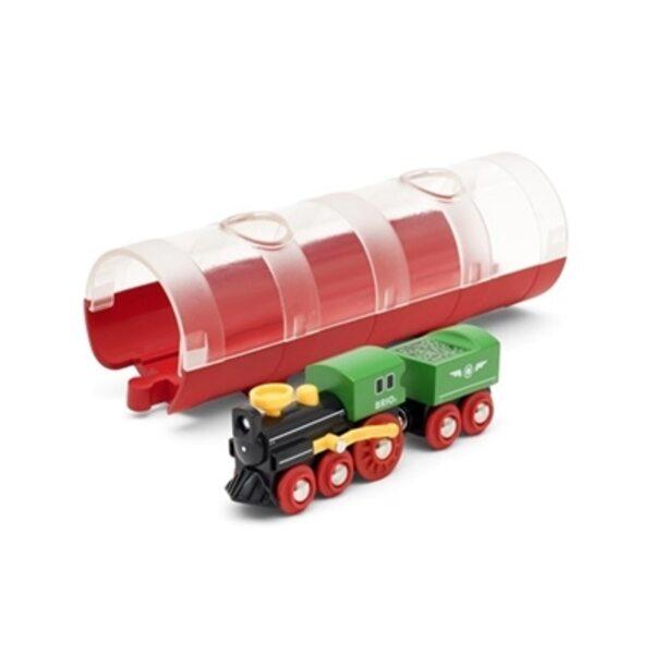 Brio Steam Train and Tunnel Vilciens 33892