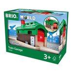 Brio Train Garage Lokomotīvju depo 33574