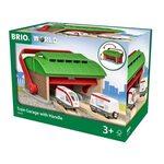 Brio Train Garage with Handle Lokomotīvju depo 33474