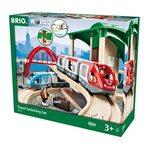 Brio Travel Switching Set Koka dzelzceļš 33512
