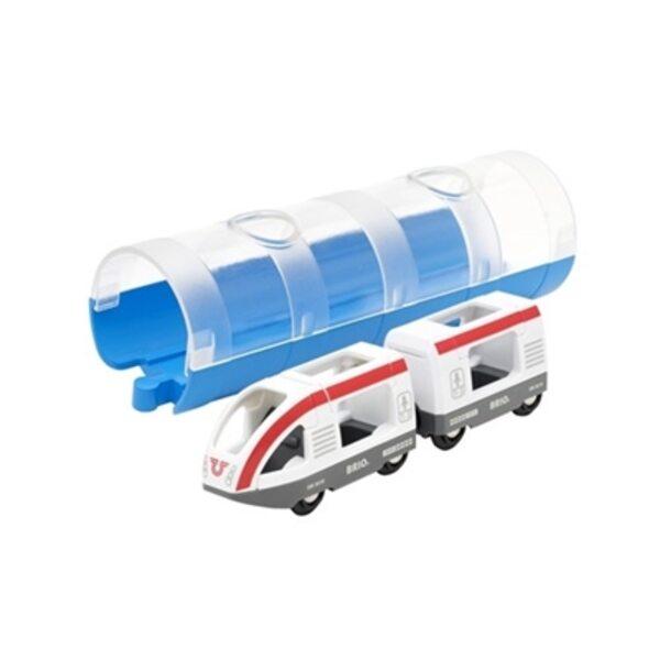 Brio Travel Train and Tunnel Vilciens 33890