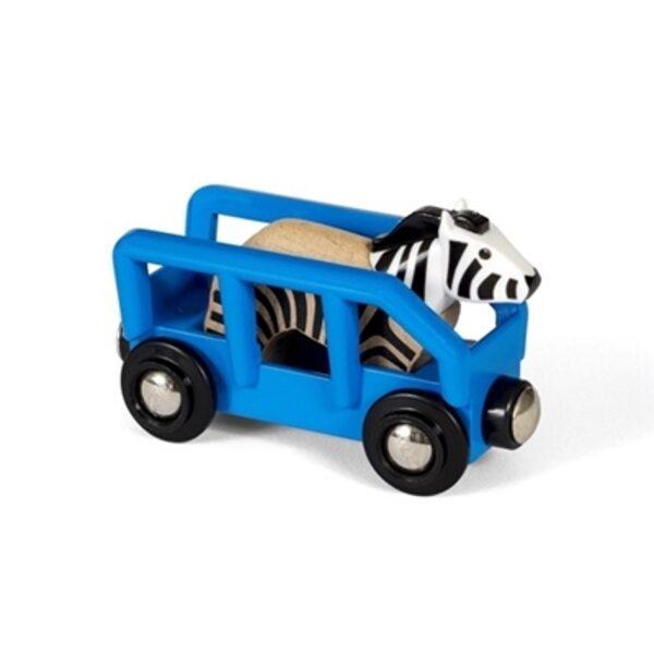 Brio Zebra and Wagon Vagons 33967