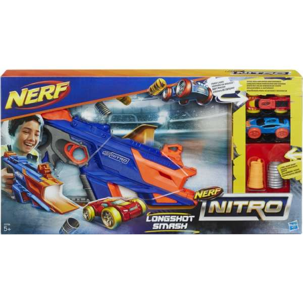 Nerf Nitro Longshot smash komplekts C0784