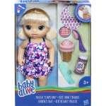 Hasbro Baby Alive Baby Blond Lelle ar saldējumu C1090