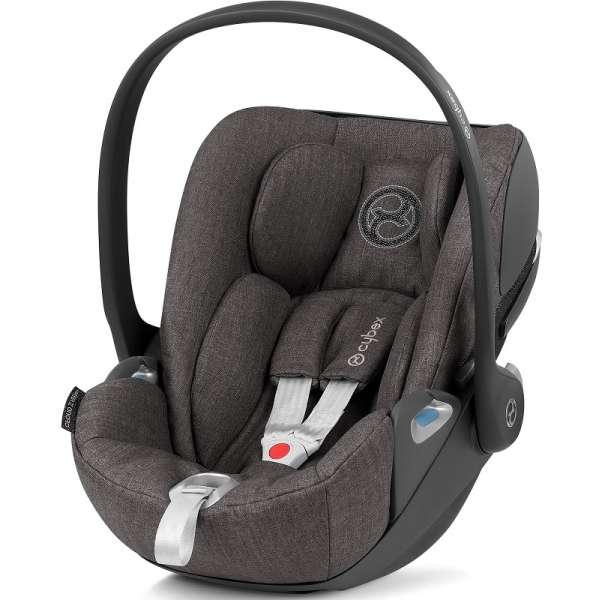Cybex Cloud Z i-Size Manhattan Grey Plus Bērnu autosēdeklītis 0-13 kg