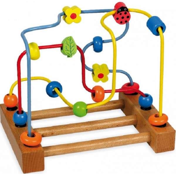 Baby Mix Koka rotaļlieta Labirint D93291