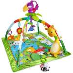 Fisher Price 3-in-1 Musical Activity Gym Aktivitātes paklājiņ, DFP08