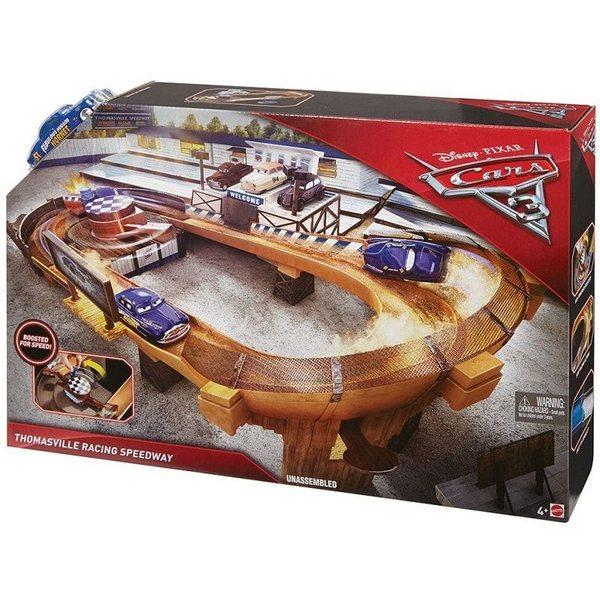 Cars 3 - Vāģi 3 Thomasville Racing Speedway Track Set, DXY92