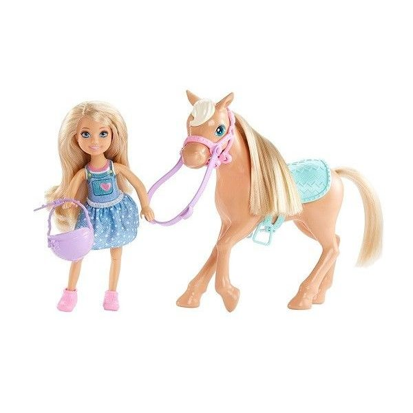 Barbie Lelle Chelsea and Pony, DYL42