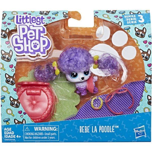Littlest Pet Shop Bebe La Poodle Dzīvnieciņi E2161