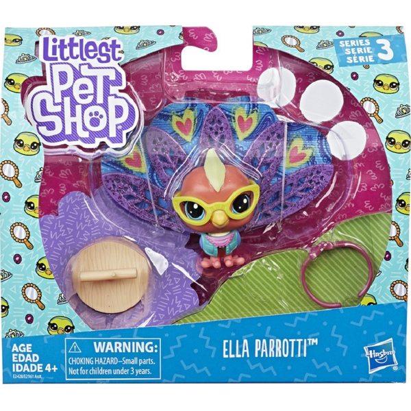 Littlest Pet Shop Ella Parrotti Dzīvnieciņi E2161