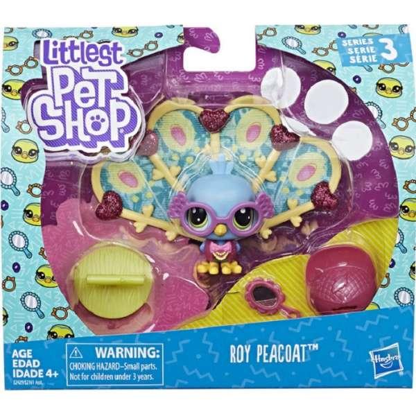 Littlest Pet Shop Roy Peacoat Dzīvnieciņi E2161