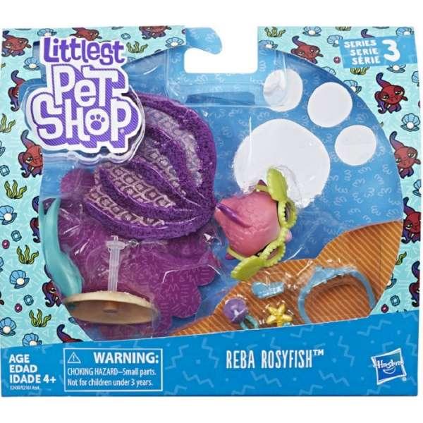 Littlest Pet Shop Reba Rosyfish Dzīvnieciņi E2161