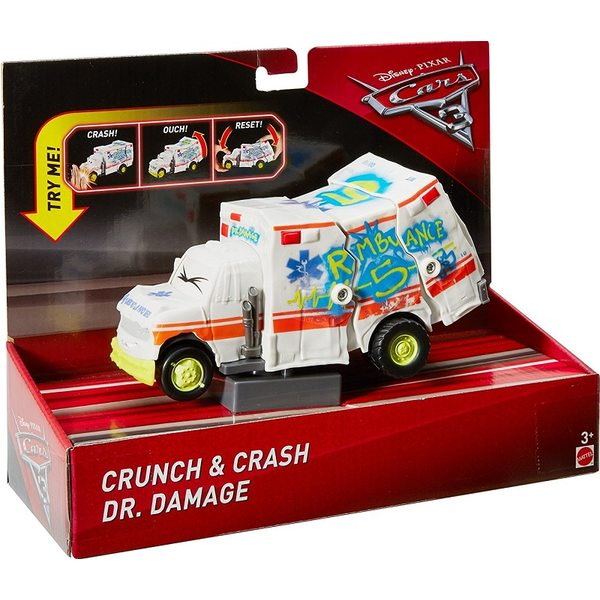 Cars - Vāģi Crunch & Crash Dr.Damage FCT04