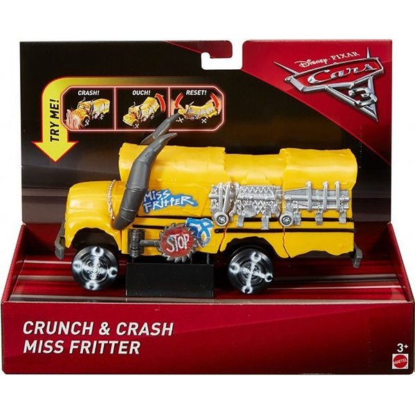 Cars - Vāģi Crunch & Crash Miss Fritter FCT04