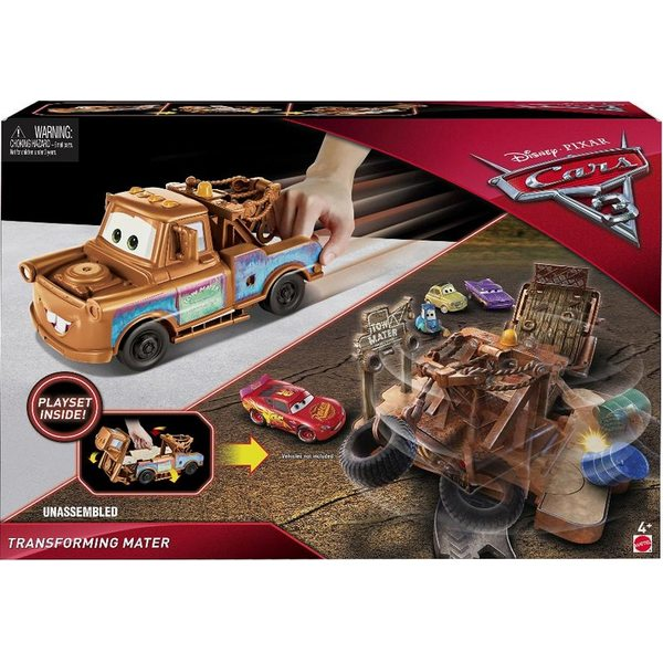 Cars - Vāģi Transforming Mater FCW03