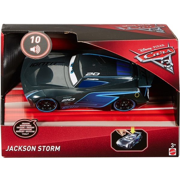Cars 3 - Vāģi 3 Lights & Sounds Jackson Storm, FDD54