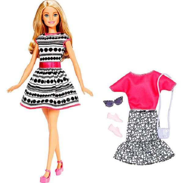 Barbie Doll & Fashions Asst. Lelle FFF58_2