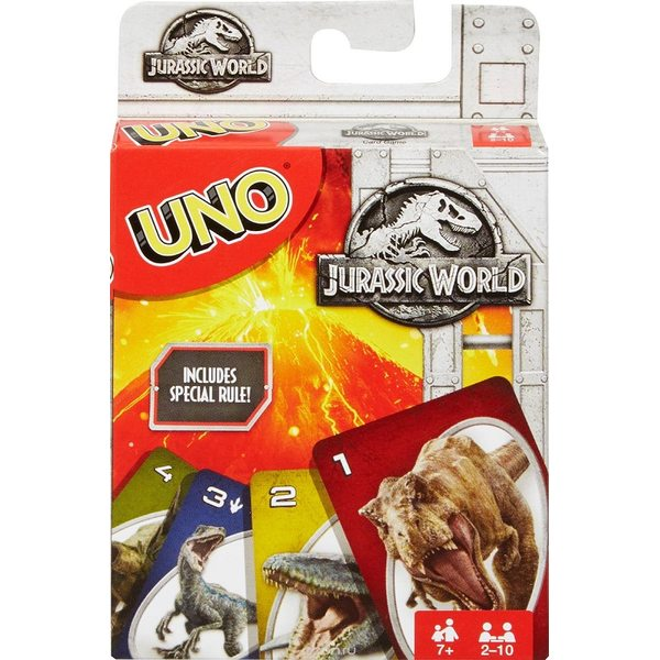 UNO Jurassic World Kārtis FLK66