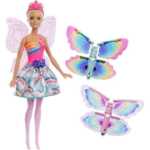 Barbie Dreamtopia Flying Wings Fairy Doll Lelle FRB08