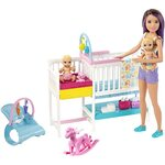 Barbie Skipper Babysitters Inc. Nursury playset lelle, GFL38