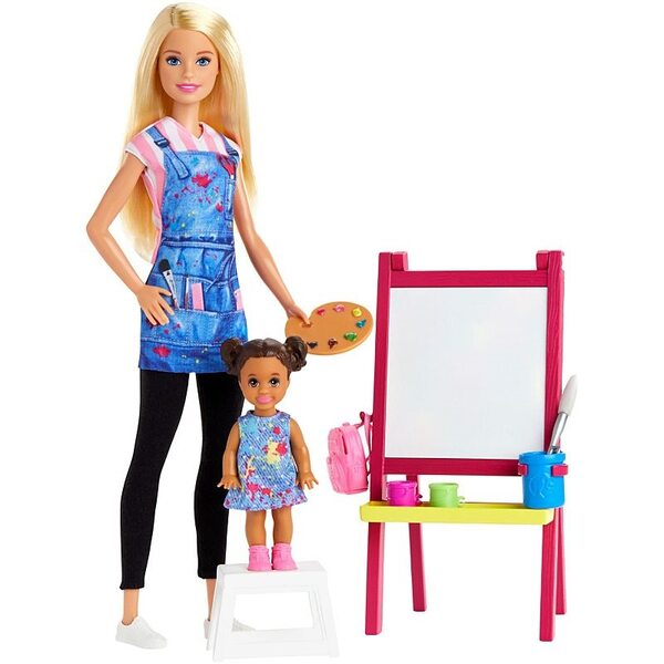 Barbie Art Teacher lelle, GJM29