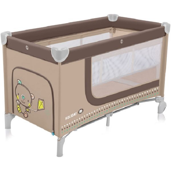 Baby Design Holiday 09 Beige Ceļojumu gultiņa