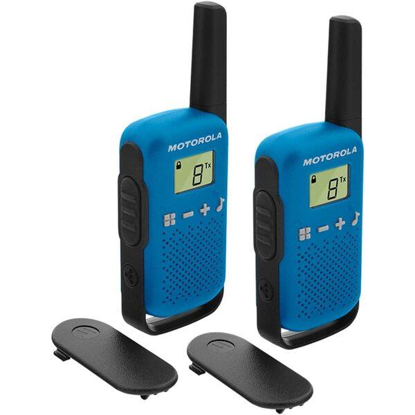Motorola Talkabout T42 Twin Pack Rācija Blue 2 gab.
