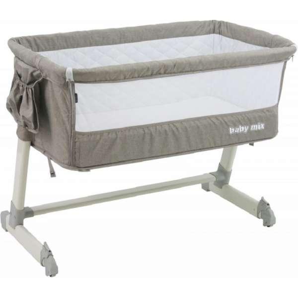 Baby Mix Mazuļa gultiņa P-9 beige
