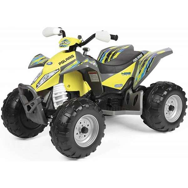 Peg Perego Polaris Outlaw Citrus OR0090 Bērnu elektro kvadracikls