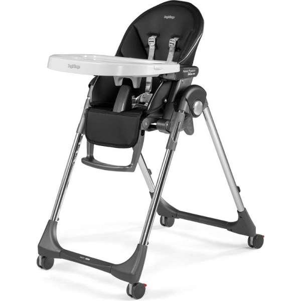 Peg Perego Prima Pappa Follow Me Hi-Tech Licorice Barošanas krēsls (Zero 3)