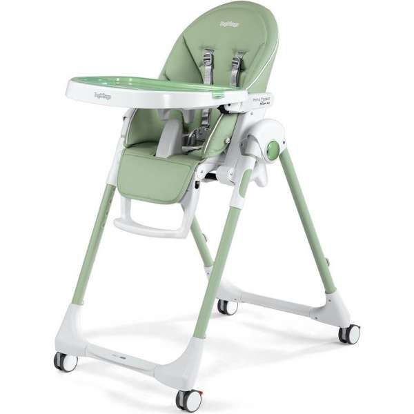 Peg Perego Prima Pappa Follow Me Mint Barošanas krēsls (Zero 3)
