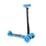 Scooter LED Bērnu trīsriteņu skrejritenis skūteris Blue
