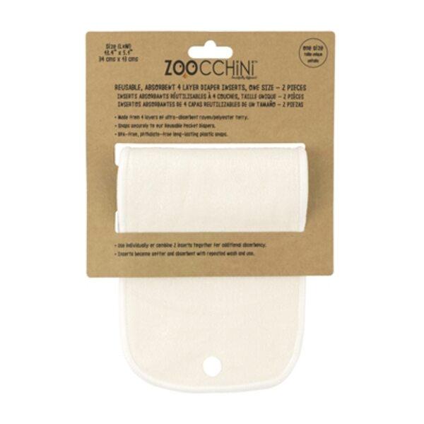 Zoocchini Pocket diaper inserts Atkārtoti lietojami autiņbiksīšu ieliktņi 2 gab.