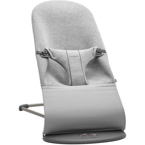 BabyBjorn Bliss Light grey, 3D Jersey Bērnu šūpuļkrēsls