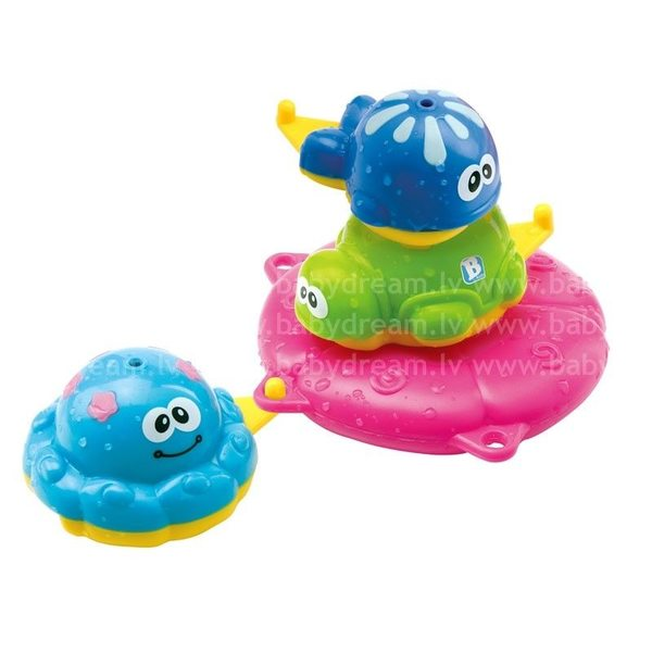 BKids Rotaļlieta vannai Bath Stacking Pals, 000701