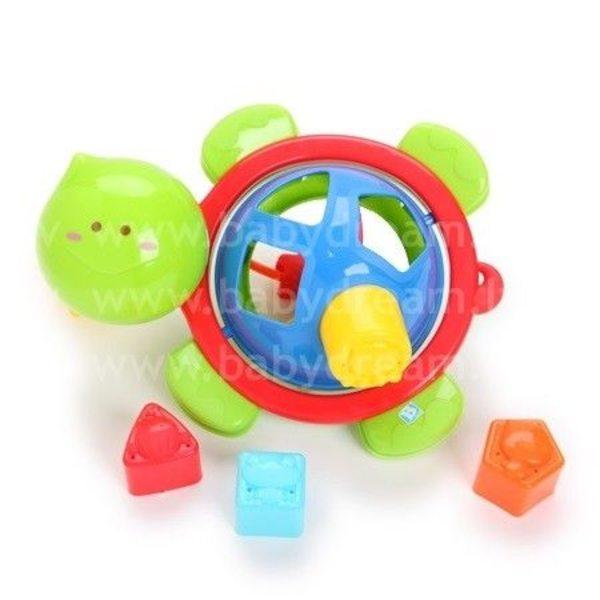 BKids Vannas rotaļlieta Formu šķirotājs Bruņurupucis, 003934