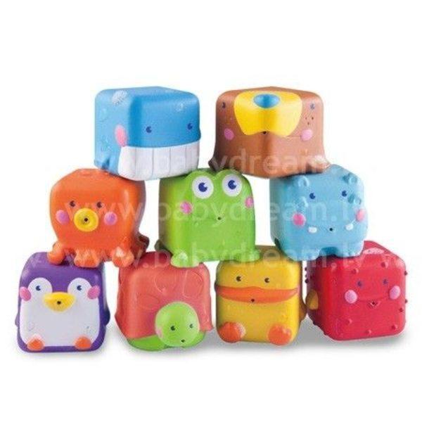 BKids Rotaļlieta vannai Stack'n Squirt Pals, 004263