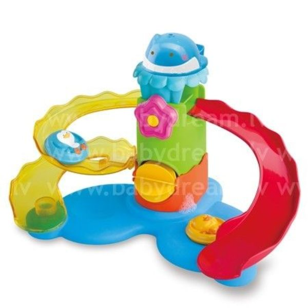 BKids Rotaļlieta vannai Splash'n Slide Waterpark Wonder, 004303