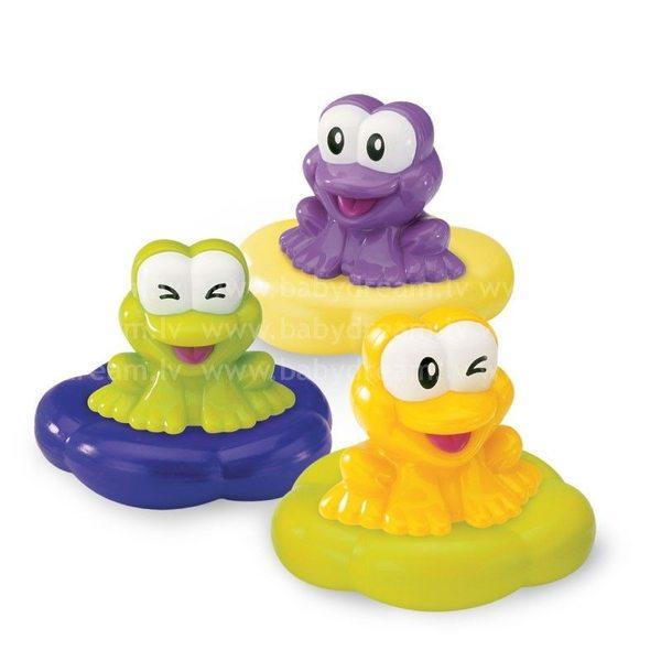 BKids Rotaļlieta vannai Floatin' frog bath time symphony, 078598