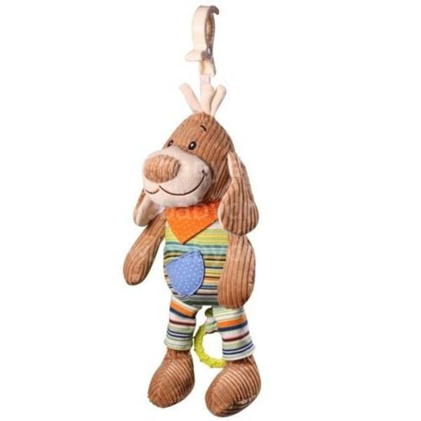 BabyOno Velūra rotaļlieta ar mūziku Suns, 1124